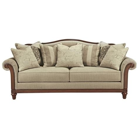 ashley fabric sofa ashley berwyn view fabric sofa in quartz 8980338