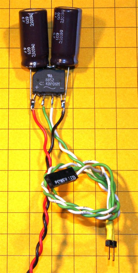 capacitor before rectifier picaxe speed controller