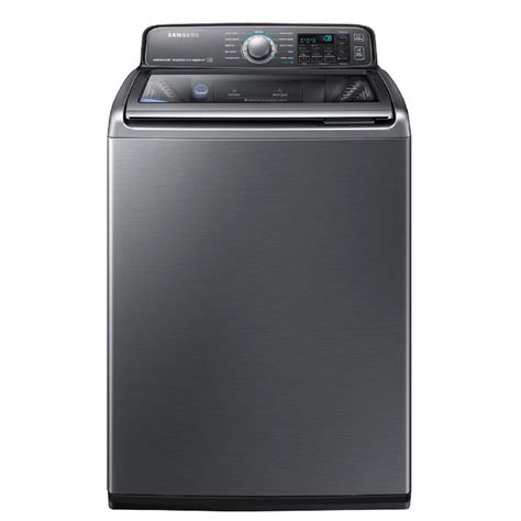shop samsung activewash with built in sink 4 8 cu ft high efficiency top load washer platinum