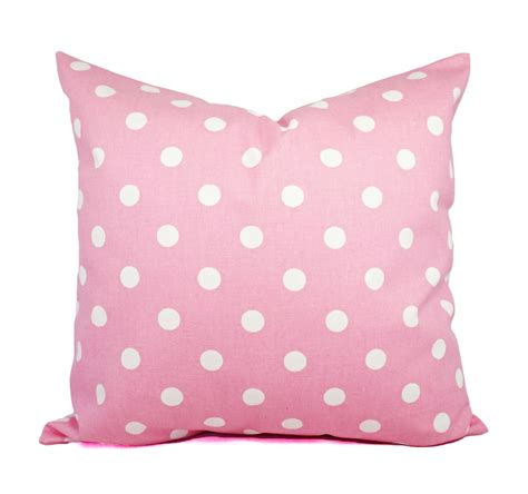Pale Pink Pillows by Two Pink Pillow Covers Pale Pink And White Polka Dot Throw