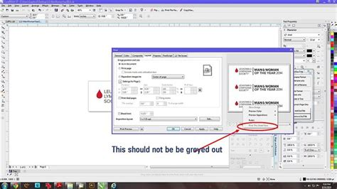 corel draw x7 keyboard shortcuts quot print this sheet now is broken in main dialog