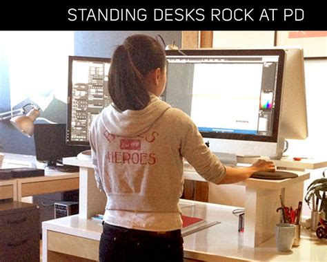 do it yourself standing desk pd co working space offers standing desk option friducation