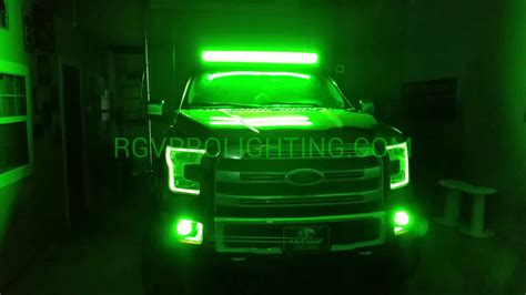 Aftermarket Lights 2015 ford f150 platinum with custom headlights
