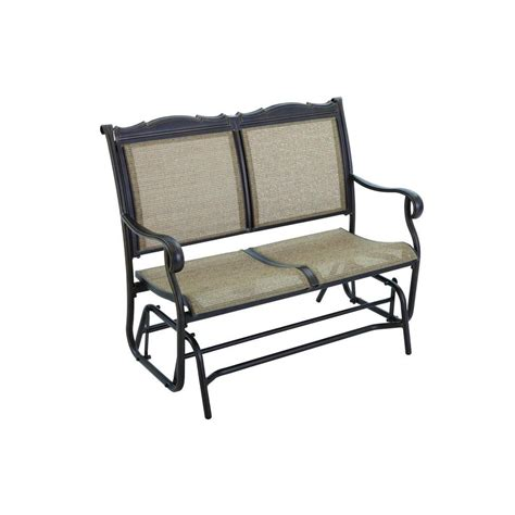 hton bay bench hton bay patio glider hton bay jackson patio loveseat