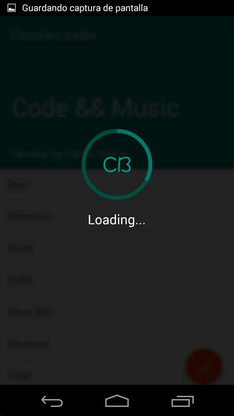 the android arsenal progress indicators cbcircularloaderdialog - Android Loader