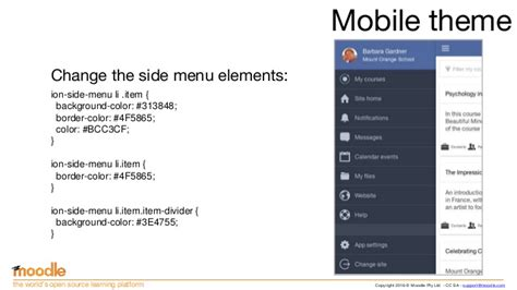 moodle themes for mobile creating moodle mobile remote themes