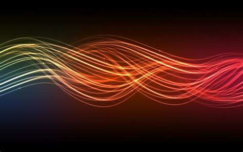 colorful light trails hd wallpapers desktop and mobile