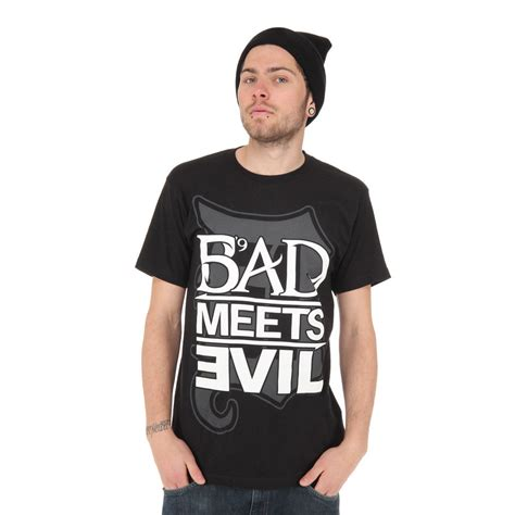 Kaos Bad Meets Evil Eminem bad meets evil royce da 5 9 eminem square logo t