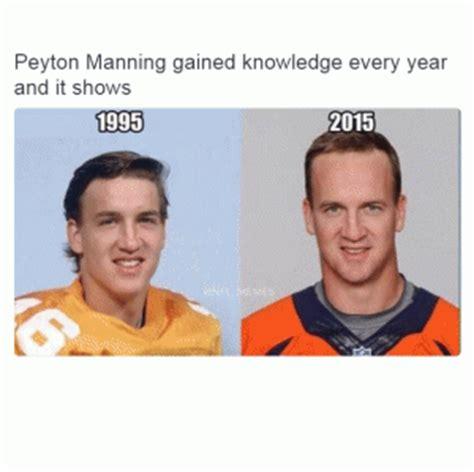 Peyton Manning Forehead Meme - receding hair jokes kappit