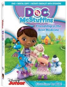 Dvd Copy Ori All About Junior Inspired By Doc Mcstuffins Frienship Is The