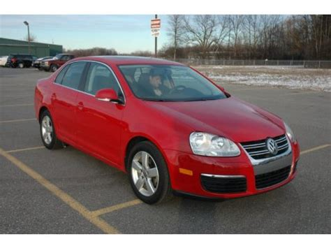 red volkswagen jetta 2008 used 2008 volkswagen jetta se sedan for sale stock
