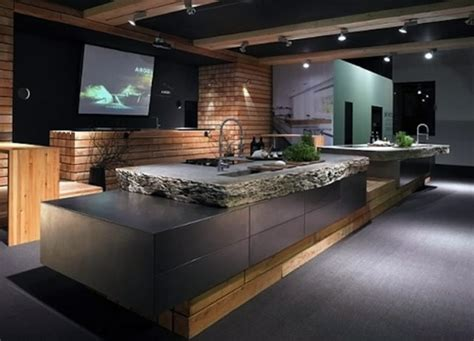 Concrete Countertops Benefits by Countertop With Concrete Look Kitchen Countertops Made