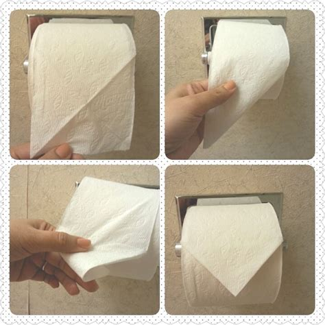 How To Fold Toilet Paper - 46 best images about toilet paper folds on