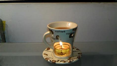 Review of Coffee Cup Tart Burner & Delightful Scents Hazelnut Coffee   YouTube