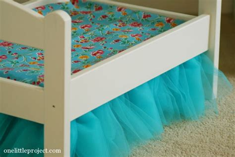 ikea bed skirt how to make a tulle bedskirt for an ikea duktig doll s bed