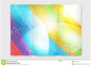abstract brochure or flyer design template stock vector