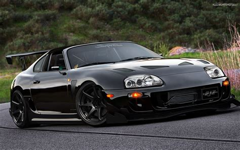 widebody supra mk4 custom widebody mk4 toyota supra