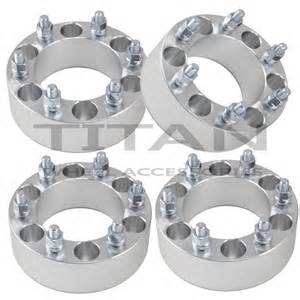4 2 quot chevy 6 lug wheel spacers adapters fits silverado