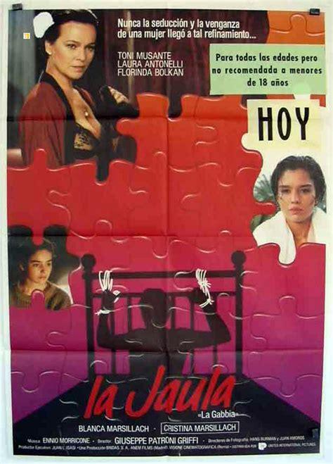la gabbia 1985 quot jaula la quot poster quot la gabbia quot poster