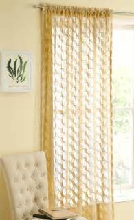 Modern Vintage Curtains Fairmont Modern Retro Lace Curtain Panel Not Voile Cut Print Effect