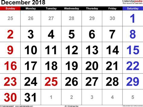 december calendar word calendar monthly printable