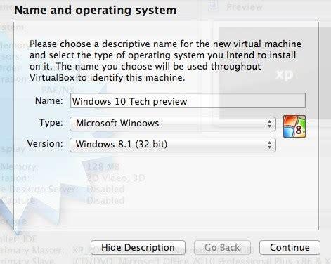 install windows 10 virtualbox mac install windows 10 using virtualbox on mac