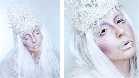 makeup tutorial snow queen snow queen makeup tutorial www imgkid com the image