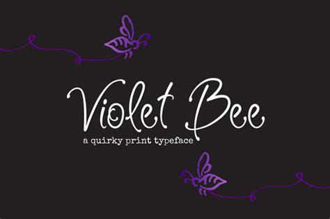 Violet Bee Font   Befonts.com