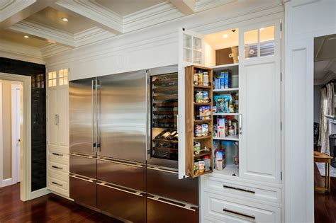 built in pantry transitional kitchen leslie