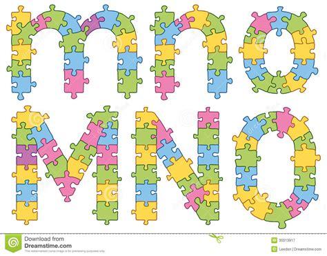 printable alphabet jigsaw puzzle jigsaw alphabet letters royalty free stock