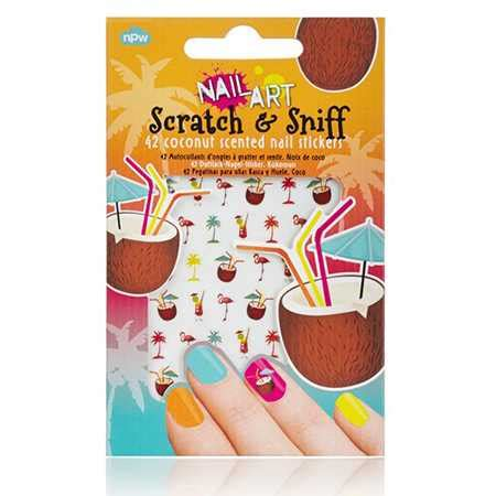 Coconut Nail Stickers