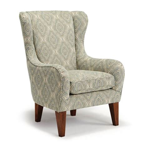 Besthf Chairs by Chairs Wing Back Lorette Best Home Furnishings