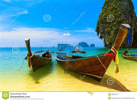 bluewater lady boat travel landscape beach with blue water stock images