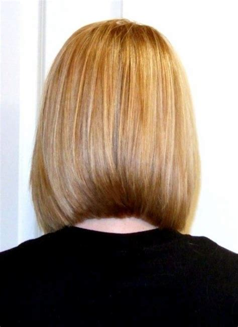 bob layered hairstyles front and back view blunt shoulder length bob back view haircut ideas