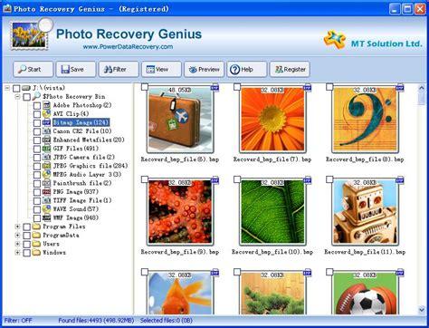 photo recovery photo recovery genius v1 2 shareware photo