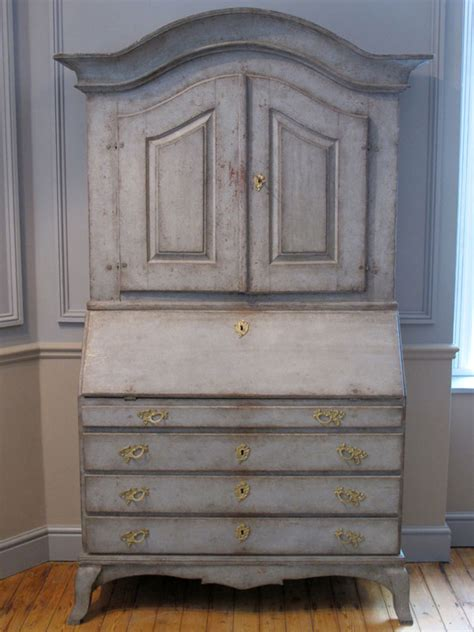 swedish painted furniture 18th cent swedish painted bureau bookcase other furniture