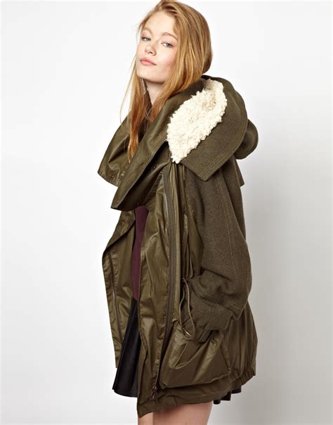 Fashion Jacket Parka parka jackets fit jacket