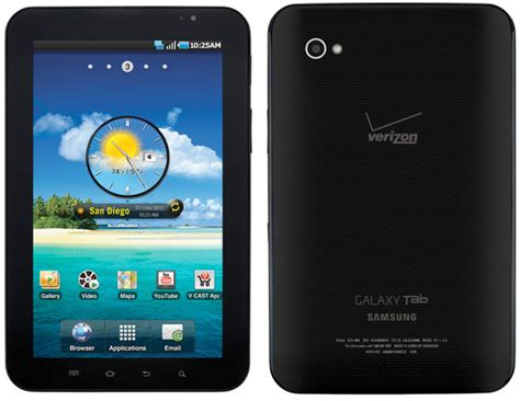 Samsung Tab Verizon verizon to sell galaxy tab starting november 11th for 599 99