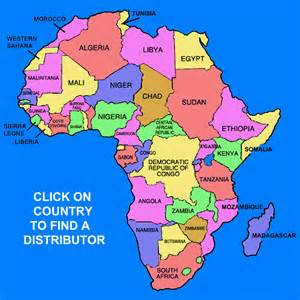 Countries Of Africa Map by African Countries Map Images