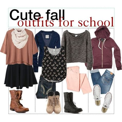 7 Ideas To Convert Summer Clothes To Fall by Fall For School School Polyvore And Clothes