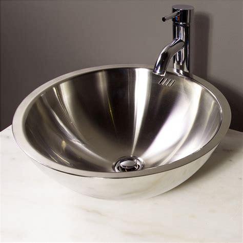 stainless steel bathroom choose stainless steel bathroom sinks the homy design