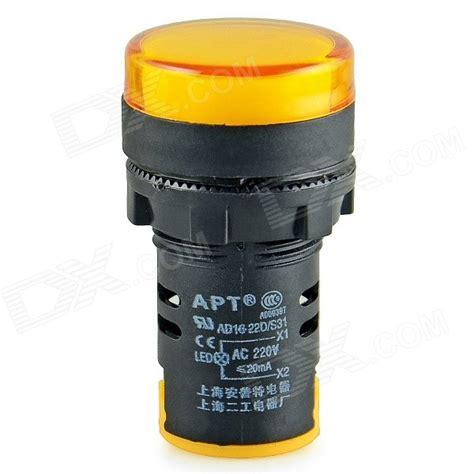 Best Product Pilot L Ad16 22 Ac 220 Volt buy 220v 22mm indicator warning signal l pilot light led at banggood goods catalog