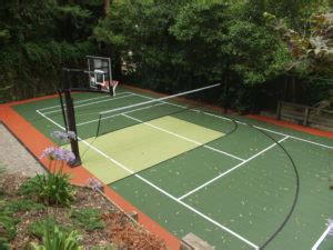backyard basketball court cost understanding the cost of a backyard basketball court