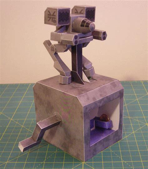 Mechanical Papercraft - mech warrior walking robot papercraft free
