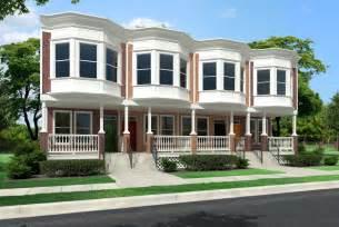 Duplex Housing Modular Home Modular Home Duplex