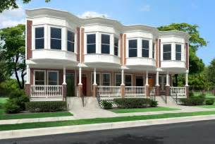 Duplex Style by Woodbridge Duplex Townhouse Style Modular Homes