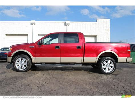 2007 ford f150 lariat 4x4 for sale 2007 ford f150 lariat supercrew 4x4 in redfire metallic