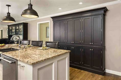 upper kitchen cabinet ideas black lower and white upper kitchen cabinets temasistemi net