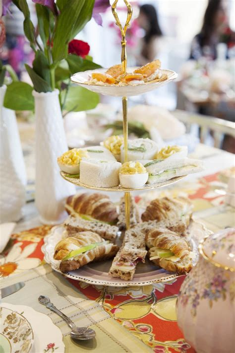 food ideas for bridal shower tea 2 kara s ideas food from a garden tea bridal shower via kara s ideas