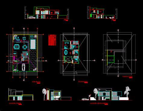 minimalist house  autocad  cad   kb